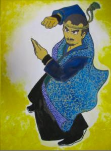 Kobudo Soke Grand Master Tsuji's manga anime by M.M.M. © Copyright by Samurai Academy of Kobudo 辻宗家古武道学院