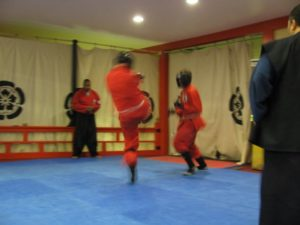 Adult Class Sparring 36k © Copyright by Samurai Academy of Kobudo 辻宗家古武道学院.